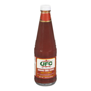 10 0012014285000082 UFC Banana Sauce Big Hot Spicy 550g No.1