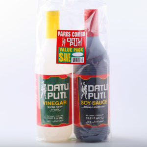 12 0038 737964000875 Datu Puti Value Pack Soy Sauce Vinegar No.1