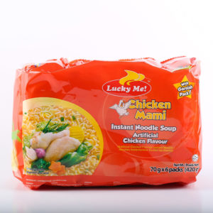 15 0678M6 4807770191350 Lucky Me Chicken with Garnish 70g No.1