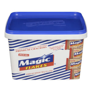 25 0820 4800016468322 Jack n Jill Magic Flakes Crackers in Tub 700g No.1
