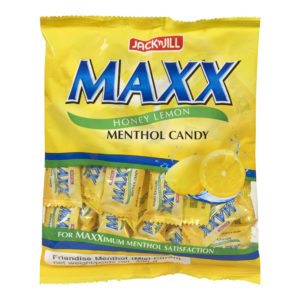 25 1042 4800016306013 Maxx Candy Honey Lemon 200g No.1