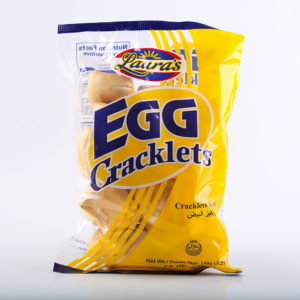 65 0814 4809010109330 Lauras Egg Cracklet 150g No.1