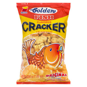 65 1020 4809010107015 Golden Fish Cracker Original 200g No.1