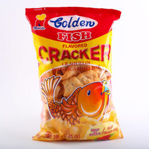 65 1022 4809010107053 Golden Fish Cracker Hot 200g No.1