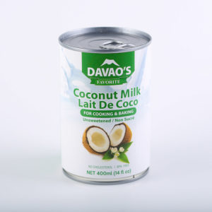 65 1310 671606000727 Davaos Favorite Coconut Milk 400ml No.1