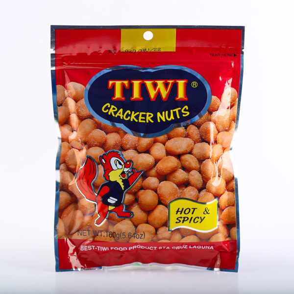 65 1450 4806507633606 TIWI Cracker nuts hot spicy 160g No.1