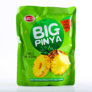 65 1454 TIWI Big Pinya Soft Jelly 208g No.1