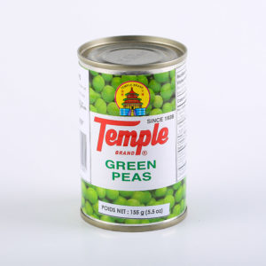 67 1654 4800217061001 Temple Green Peas 155g No.1
