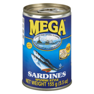 70 1616 857451000321 Mega Spanish Sardines Oil 155g No.1