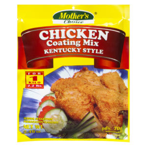 90 1818 022392476041 Mothers Choice Chicken Coating Mix Kentucky Style 70g No.1