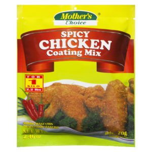 90 1820022392476027 Mothers Choice Spicy Coating Mix 70g No.1