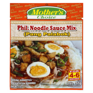 90 1832 022392476171 Mothers Choice Phil. Noodle Sauce Palabok Mix 57g No.1