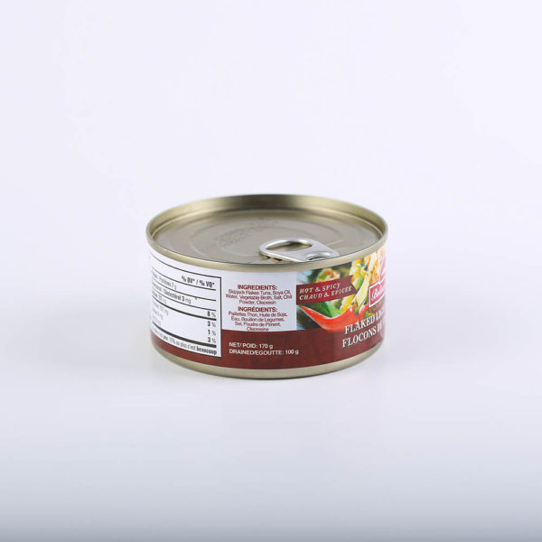 BB 1602 671606000406 Bolinaos Best Flaked light Tuna in Oil Hot Spicy 170g No.4