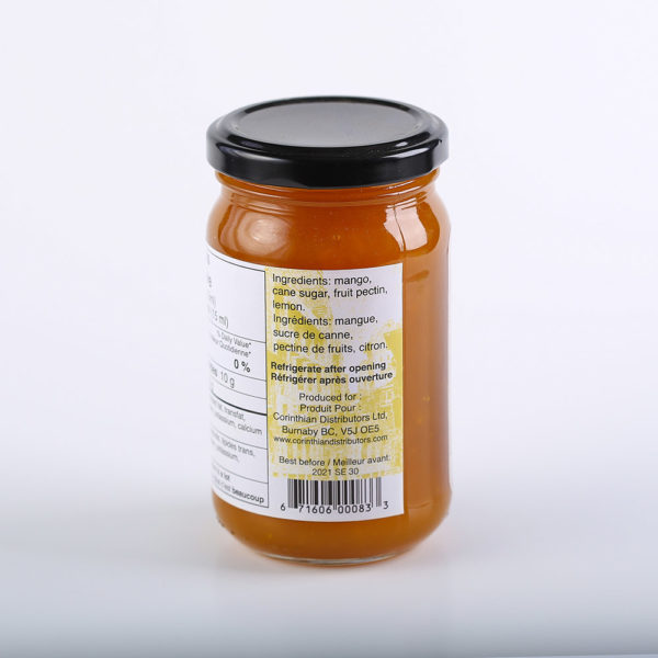 OLD 0224 671606000833 OLD Manila Mango Spread 260ml No.3