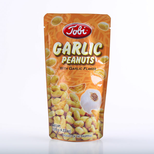 TOB 1414 4804888815024 Garlic Peanuts 120g No.1