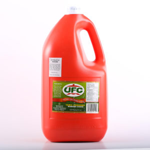 10 0018 014285001102 UFC Banana Sauce Regular 1gallon No.1