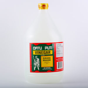 12 0034 737964000103 Datu Puti Vinegar 4 Liters No.1
