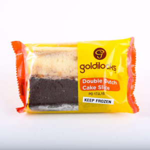 GDL 2424 4800111004166 Goldilocks Cake Slice Double Dutch 78g No.1